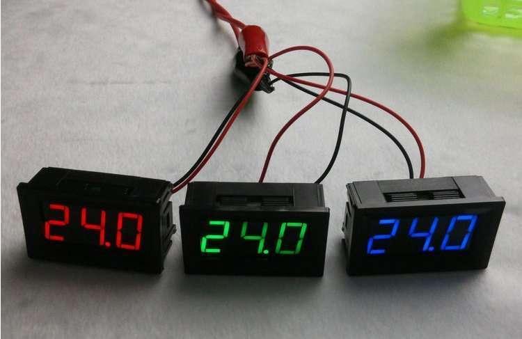 DC48V Digital Voltage Displaying and Measuring Meter DC5-68V 60