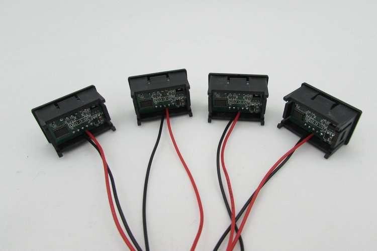 DC48V Digital Voltage Displaying and Measuring Meter DC5-68V 13