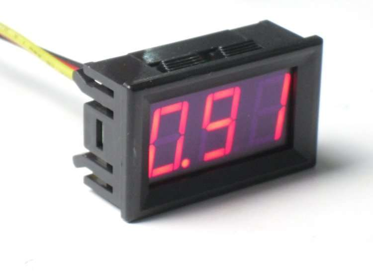 Digital Ampere Current Displaying and Detecting Meter 0-15A 2