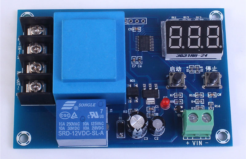 Battery Charger Control Module XH-M602 1