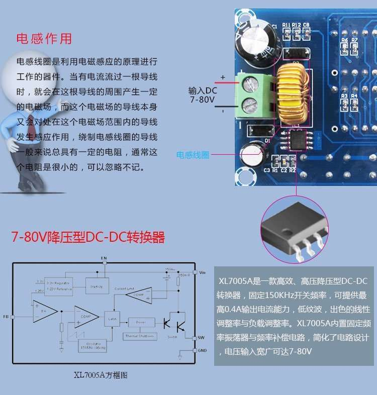 DC Balanced Power Estimating and Monitoring Module XH-M242 56