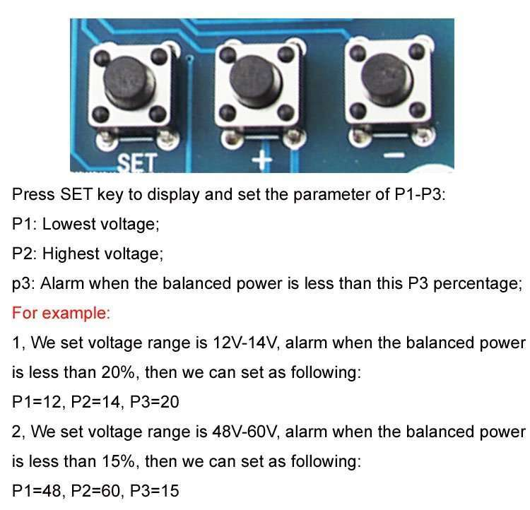 DC Power Consumption and Balanced Power Displaying Module XH-M241 4