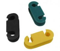 Double-Holes Rubber Grommet For Refrigeration pipe system