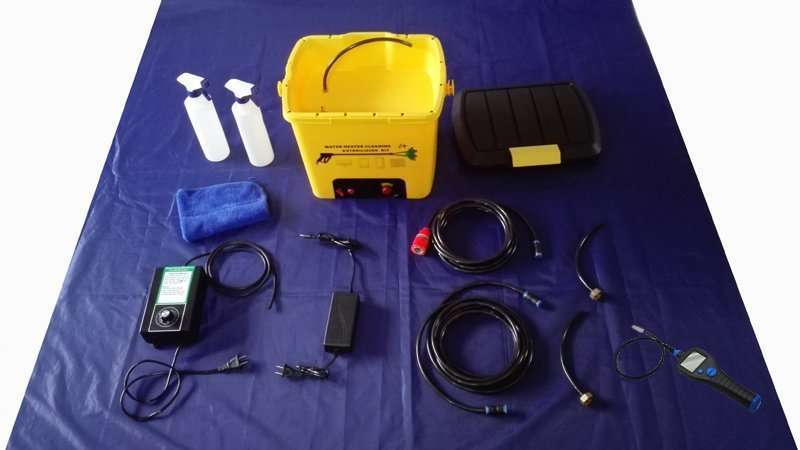 Water Heater Cleaning and Sterilizing Machine 12