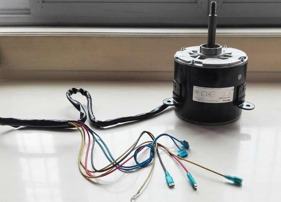 Air Conditioner Fan Motor YDK190-6D(B) 1