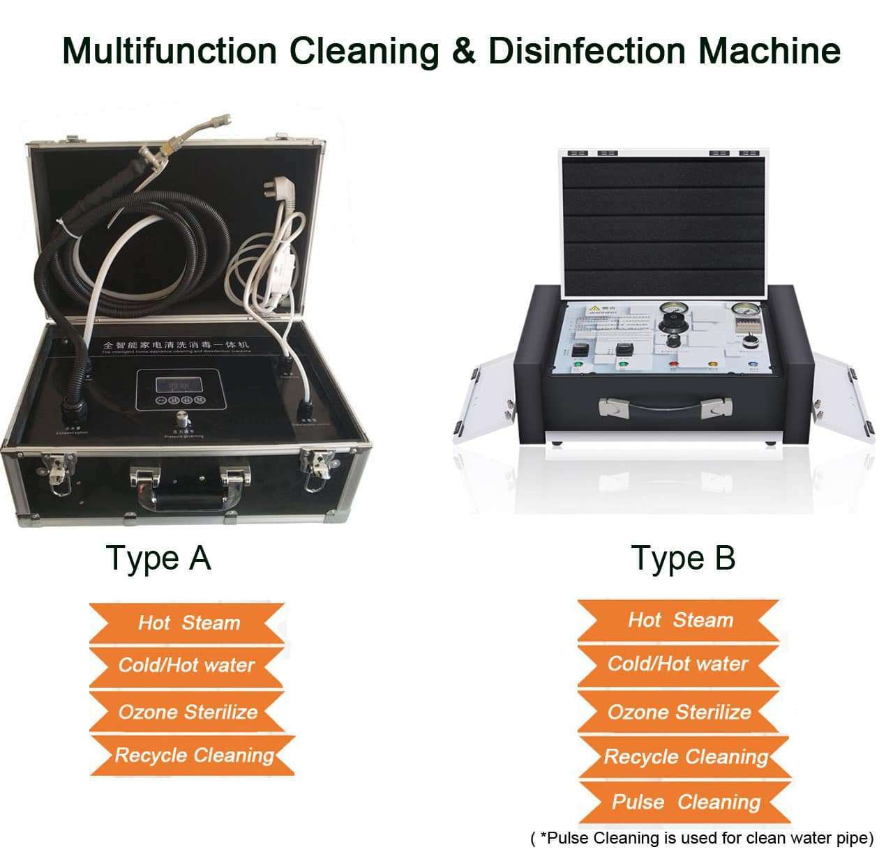 Multifunction-cleaning-Machine functions
