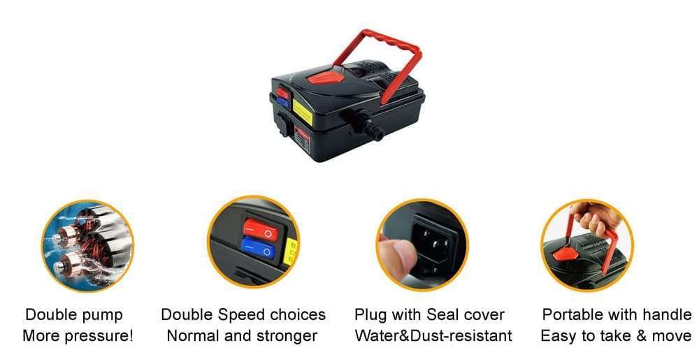 design of AC Coil Cleaning Pump Machine Tool Kit