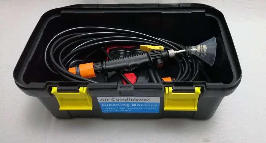 AC Coil Cleaning Pump Machine Tool box