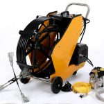 Kitchen Exhaust and Grease Duct Cleaning Machine,easy to clean oiled duct