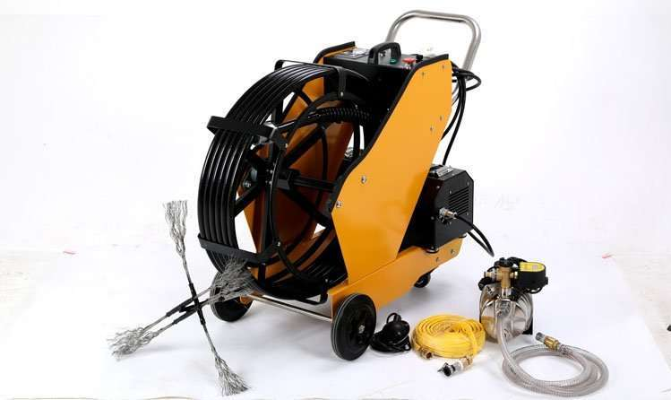 Kitchen Exhaust and Grease Duct Cleaning Machine,easy to clean oiled duct 1