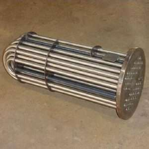 U-tube heat exchangers,BEU Heating Exchanger 4