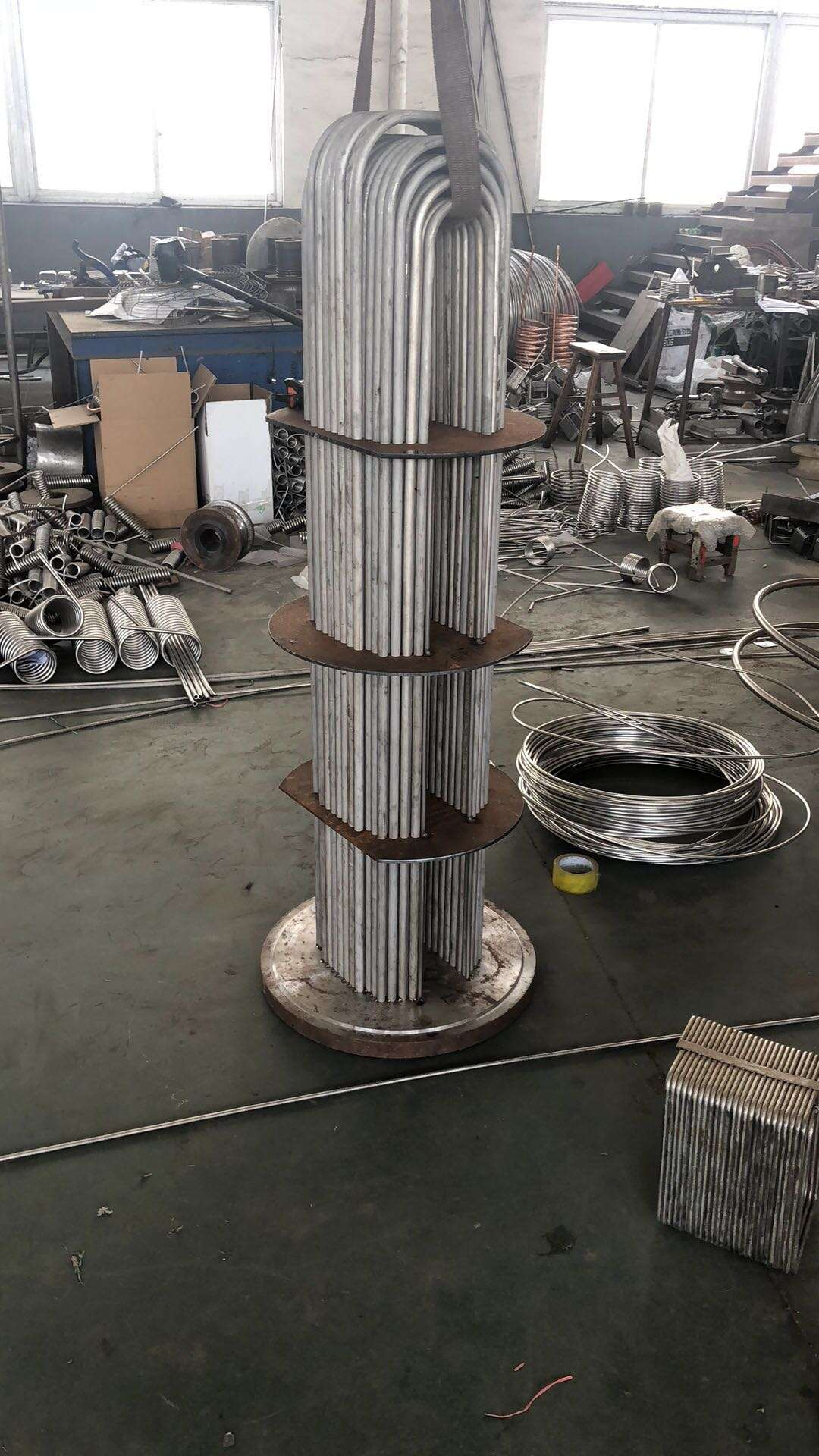 U-tube heat exchangers,BEU Heating Exchanger 8