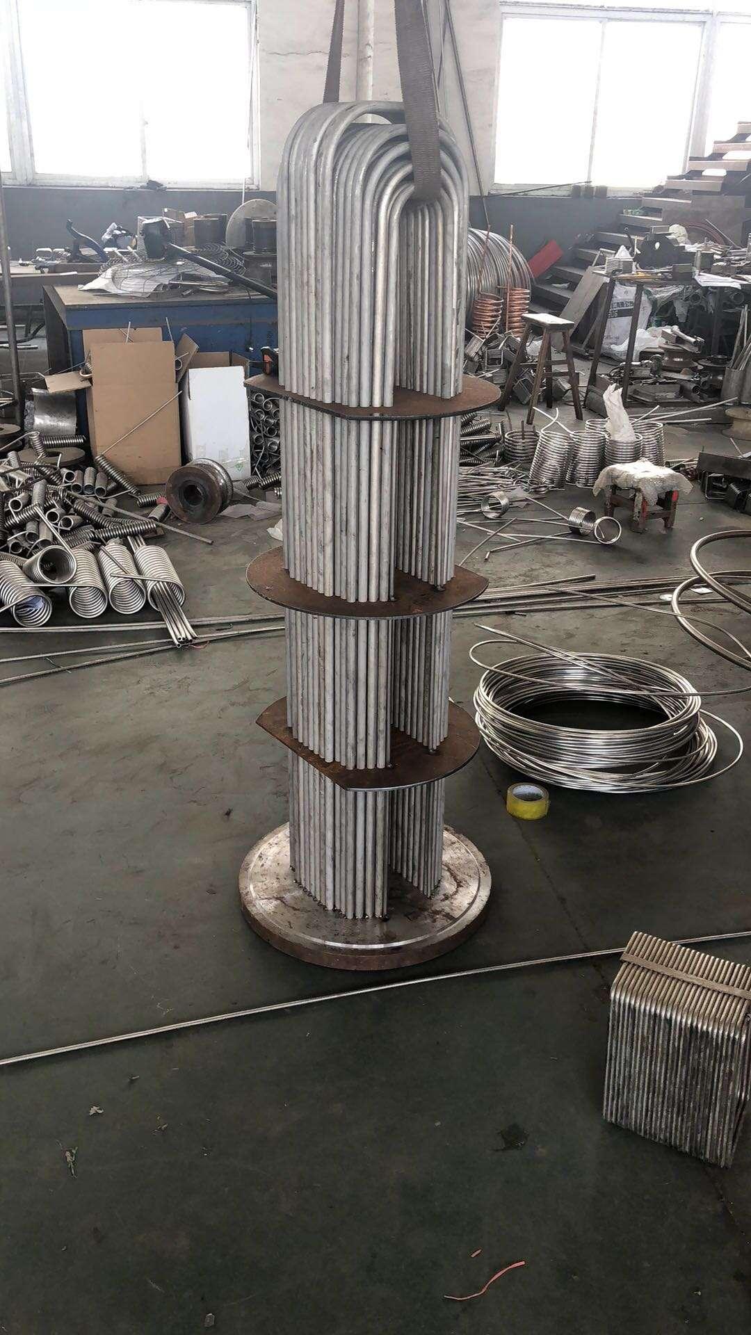 Tube in Tube evaporator Coaxial Heat Exchanger condenser 13