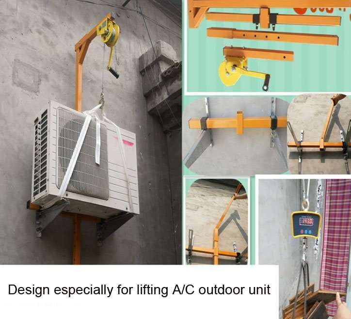 AC Outdoor Unit Lifting Tool