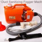 Air Duct Sanitizing Fogger Machine,effectively kill virus 2