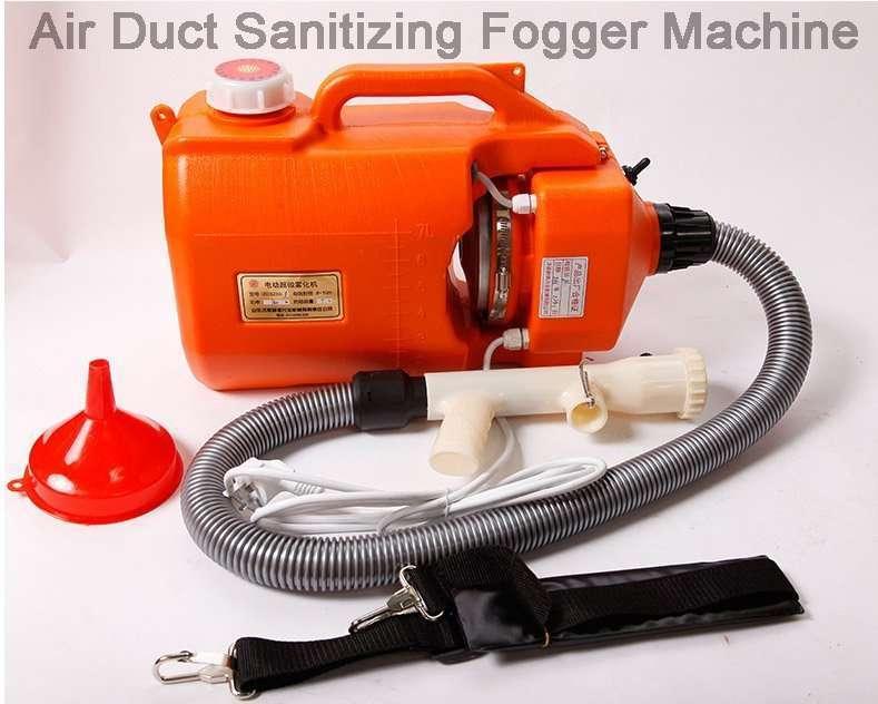 Air Duct Sanitizing Fogger Machine 9