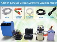 Kitchen Exhaust Grease Ductwork Cleaning Robot