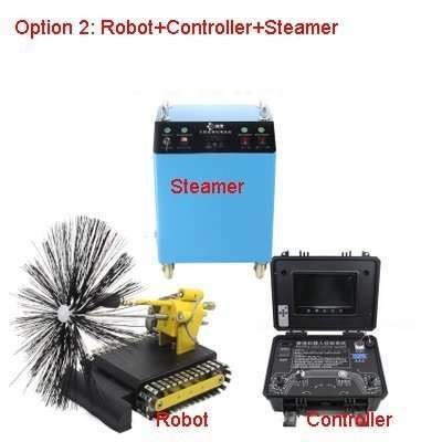 Kitchen Exhaust Grease Ductwork Cleaning Robot 16