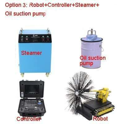 Kitchen Exhaust Grease Ductwork Cleaning Robot 28