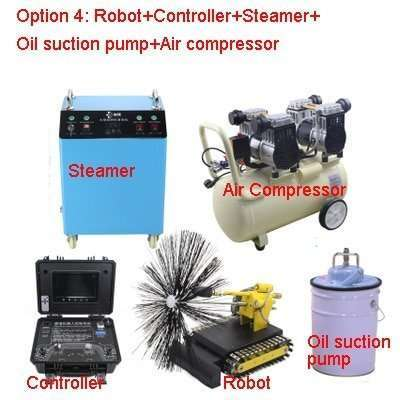 Kitchen Exhaust Grease Ductwork Cleaning Robot 29