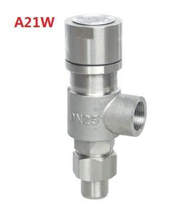 A21W Screw-in type Spring loaded micro-opening safety valve