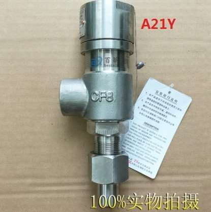 A21Y Screw-in type Spring loaded micro-opening safety valve