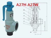 A27H A27W A27Y Screw-in type Spring loaded micro-opening safety valve