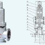 A40Y Flanged type Spring loaded safety valve