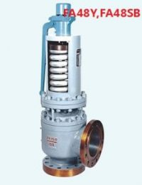 FA48Y FA48SB Flanged type Spring loaded safety valve