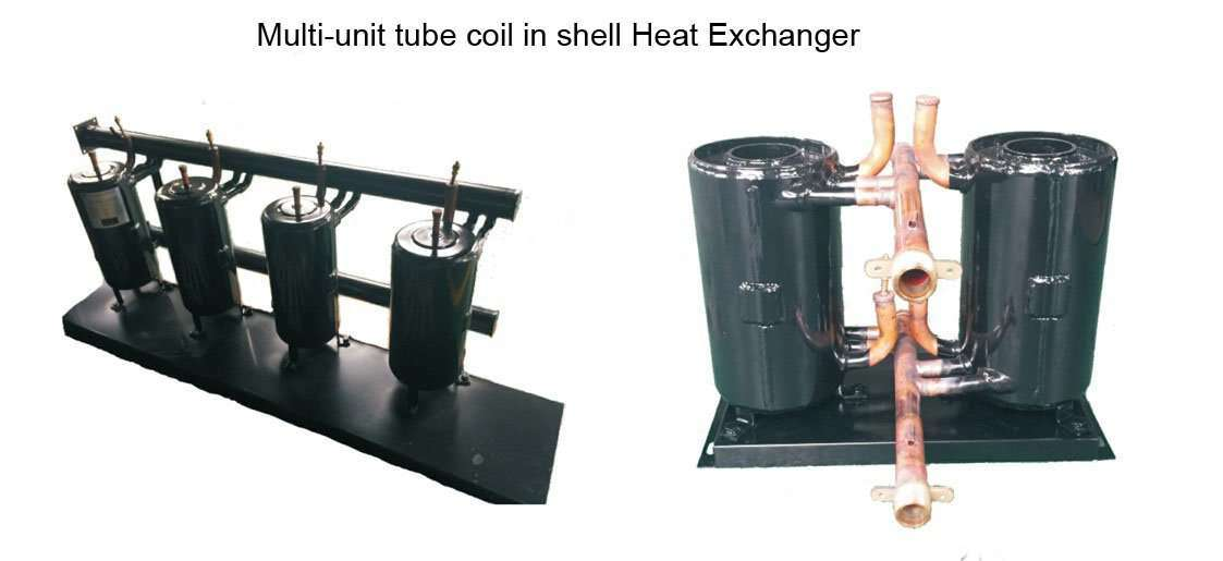 multi-unit tube coil in shell Heat Exchanger