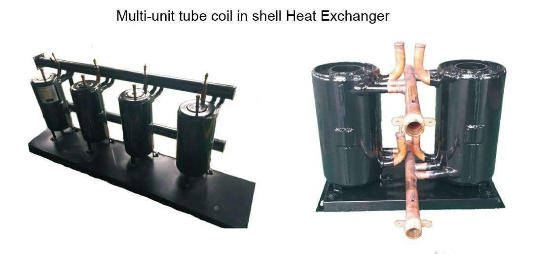 multi-unit tube coil in shell Heat Exchanger