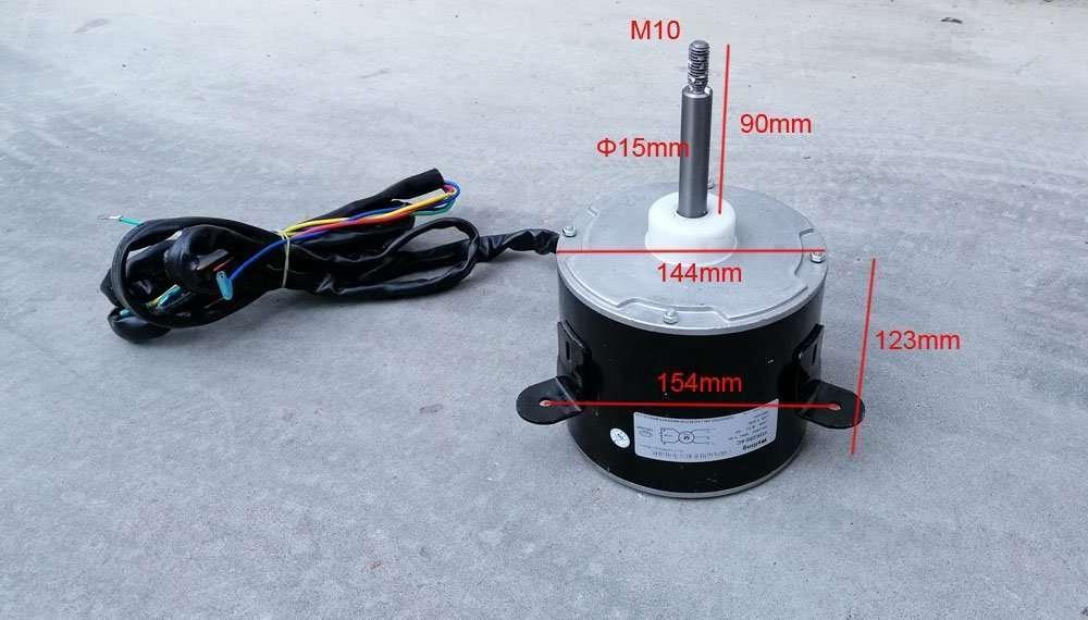 Air Conditioner Fan Motor YDK250-6C 4