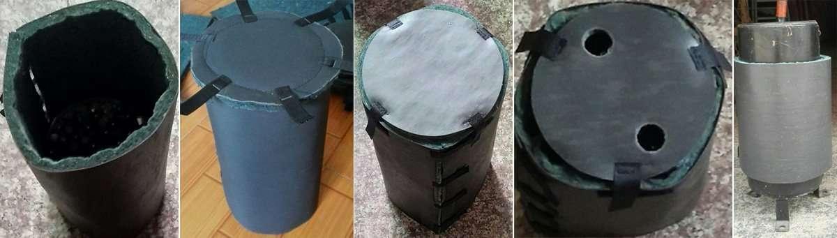 Heat Pump Soundwraps Blankets and Enclosures