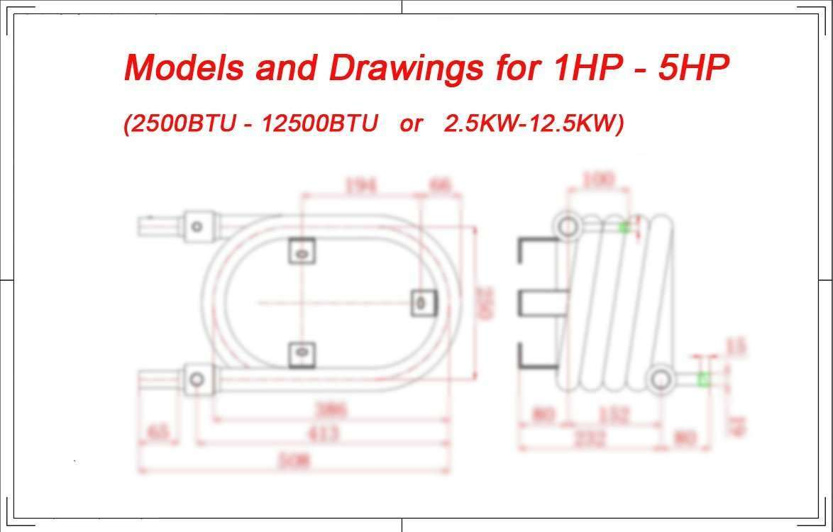 Tube in Tube evaporator Coaxial Heat Exchanger condenser 4