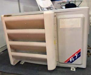 condenser air deflector
