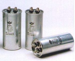 Air conditioning compressor starting capacitor