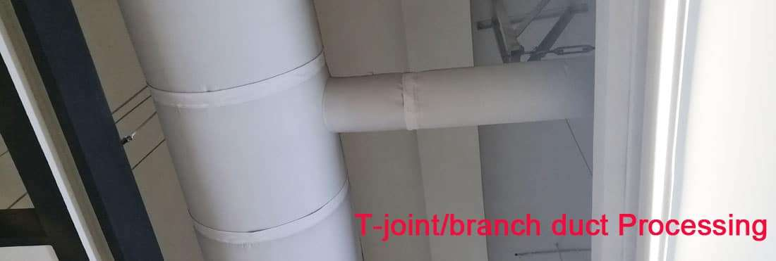 Fabric air duct,Textile ventilation duct 8