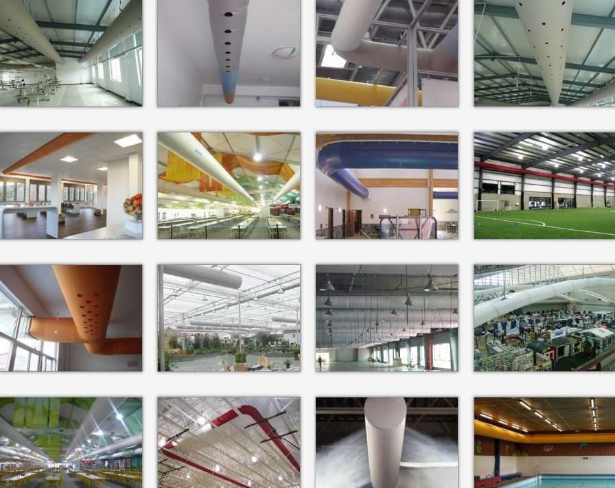 Fabric air duct,Textile ventilation duct 2