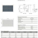 Solar Panel 110W MonoCrystalline