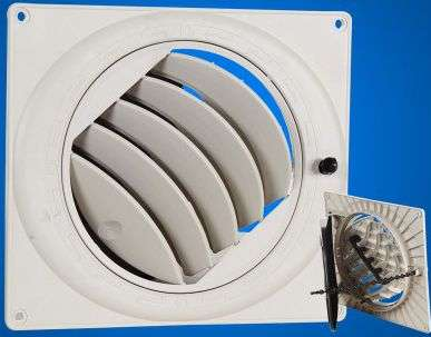 Plastic Air Duct System,Ventilation plastic duct 26