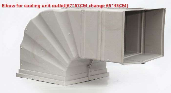 Plastic Air Duct System,Ventilation plastic duct 4