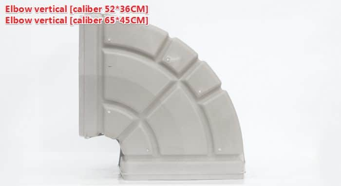 Plastic Air Duct System,Ventilation plastic duct 3