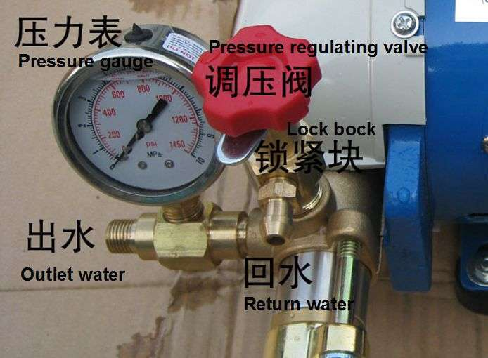 High pressure water jet pump for Air Conditioner coil cleaning 12