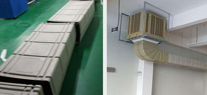Plastic Air Duct System,Ventilation plastic duct 36