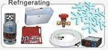 Refrigerating materials and tools