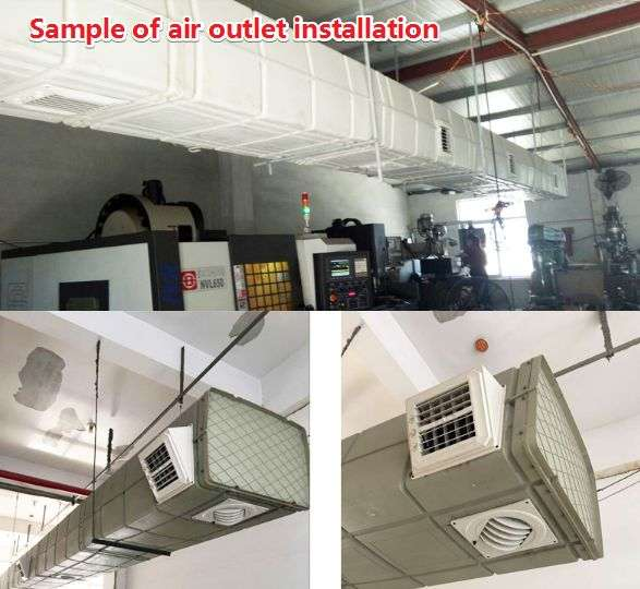 Plastic Air Duct System,Ventilation plastic duct 40