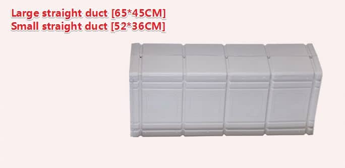 Plastic Air Duct System,Ventilation plastic duct 22