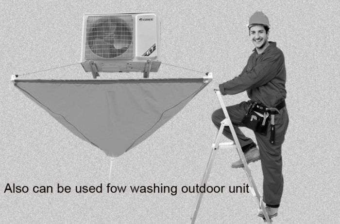 Air Conditioner Cleaning Dust Collector For Ceiling Mounted Air Conditioners 26