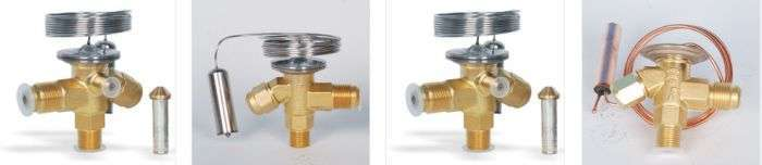 Core-replaceable thermodynamic expansion valve 2