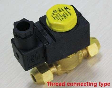 Diaphragm type solenoid valve 4